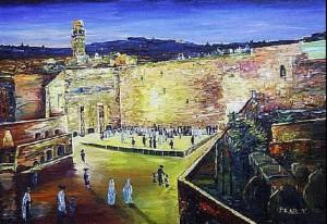 Вечный Иерусалим.Стена Плача.Виктор Пелед.