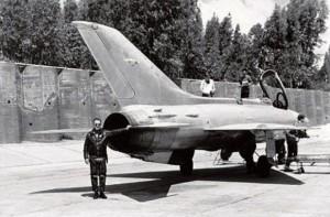 16 августа 1966г. завербованный Мосадом иракский лётчик перегнал в Израиль новейший советский истребитель МиГ-21