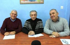 Национальные общины Израиля (встреча Б.Песина с зам. мера г.Афула Б.Юдисом  и г-ном Мусой Хако в муниципалитете города)