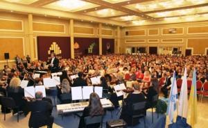 Торжественный концерт в честь 68-й годовщины провозглашения Независимости государства Израиль в Днепре