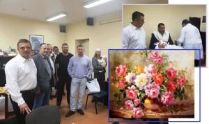 Поздравляем Юрия и Евгению Сусоровых с Брит-Милой сына Беньямина!