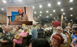 Вадим Рабинович презентовал партию «Центр» в Днепропетровске. Полный текст презентации и аудиозапись.