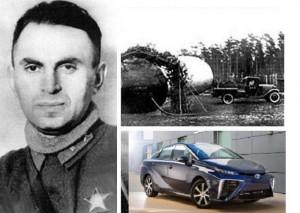 Борис Шелищ и давняя история автомобильного двигателя на водородном топливе